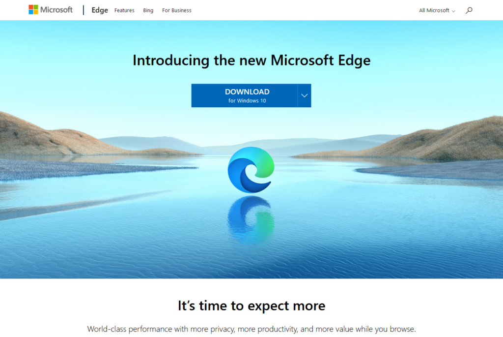新しくなった「 Microsoft Edge」のご紹介